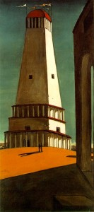 The Tower by Giorgio de Chirico