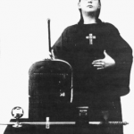 Crowley with Weapons