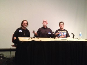 panel with Rolston and Chandler